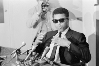 Muhammad Ali Speaking at Press Conference